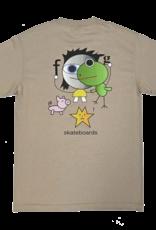 Frog Skateboards Frog Kid! Tee Oatmeal