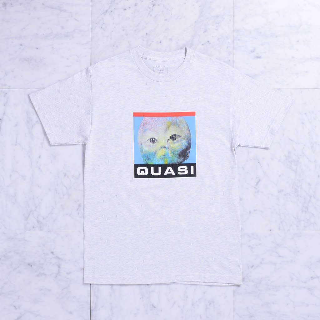 Quasi Skateboards Spaced Tee Ash
