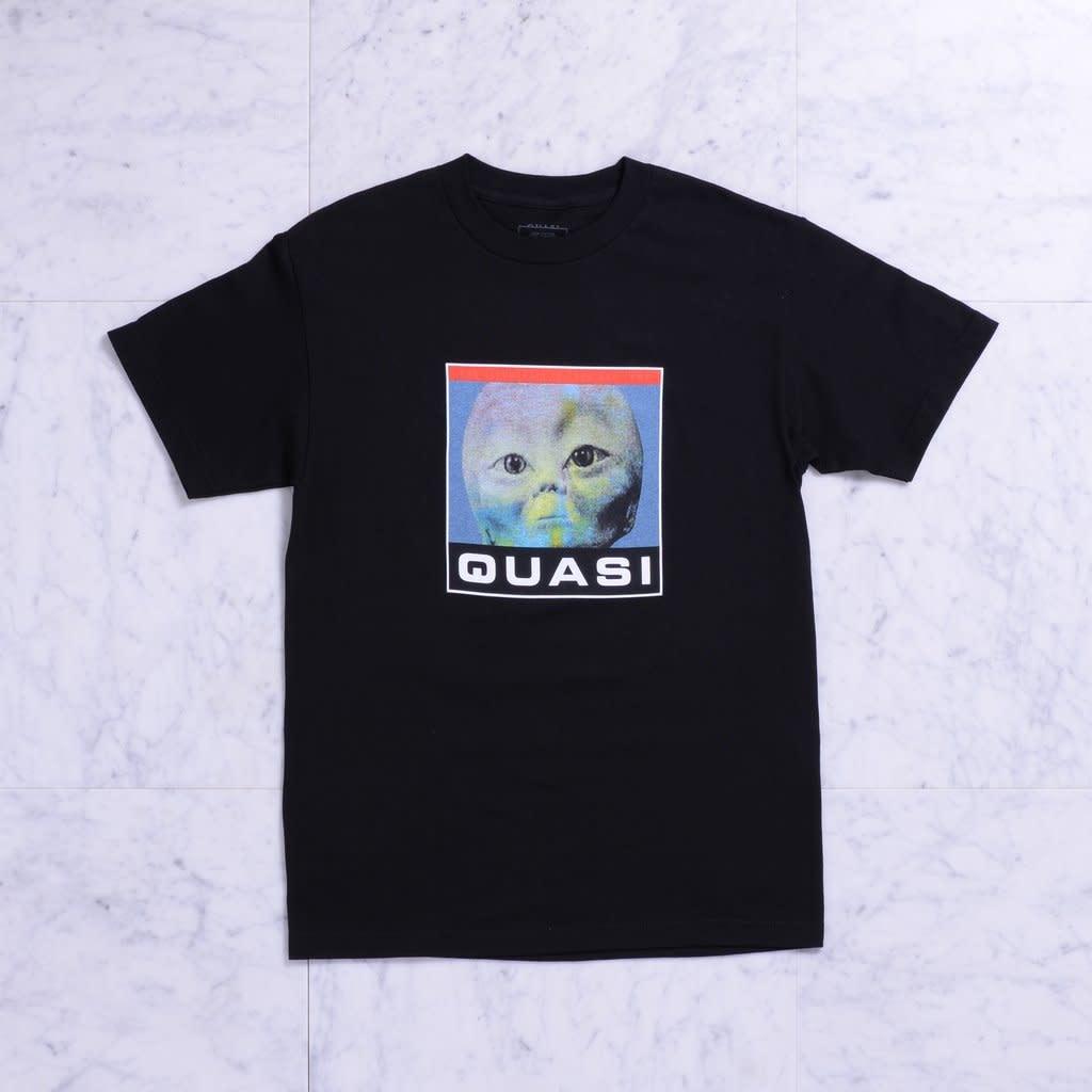 Quasi Skateboards Spaced Tee Black