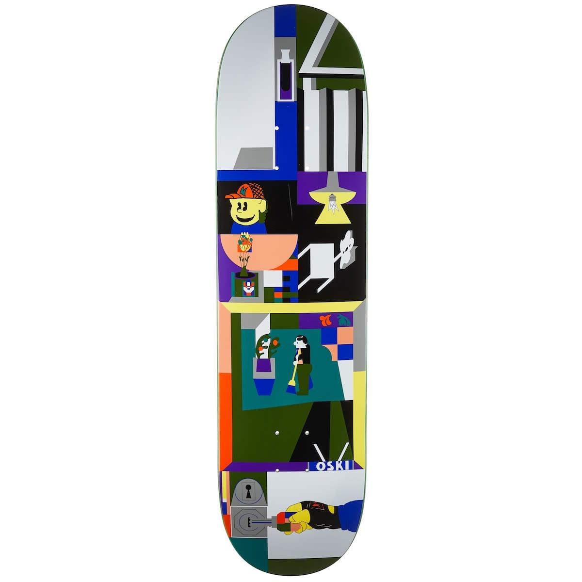 Polar Skate Co. Oskar Rozenberg Key 8.25