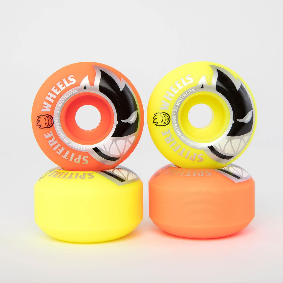 Spitfire Wheels Spitfire Bighead Mash Up Orange/Yellow 53mm