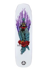 "Welcome Skateboards Peregrine on Wicked Princess 8.125"" White"