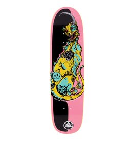 "Welcome Skateboards Cheetah on Sylphstick 8.5"" Pink/Black"