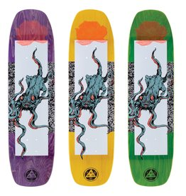 """Welcome Skateboards Bactocat on Wormtail 8.4"""" White/Black"""