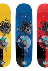 "Welcome Skateboards Gorgon on Enenra 8.5"" Silver/Various Stains"