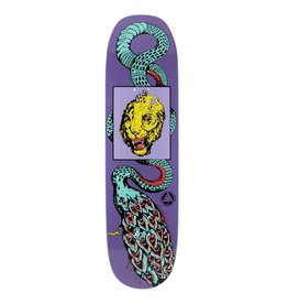 """Welcome Skateboards Glam Dragon on Moontrimmer 2.0 8.5"""" Purple"""