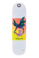 "Welcome Skateboards Somewhere on Stonecipher 8.6"" White"