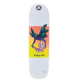 """Welcome Skateboards Somewhere on Stonecipher 8.6"""" White"""