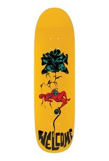 "Welcome Skateboards Lessrach on Atheme 8.8"" Yellow"