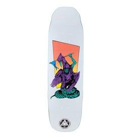 "Welcome Skateboards Twenty Eyes on Sledgehammer 9.0"" White/Purple"