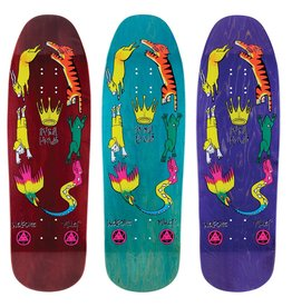 """Welcome Skateboards Animal Kingdom on Gaia 9.6"""" Various Stains"""