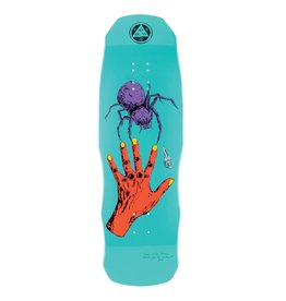 "Welcome Skateboards Gateway on Dark Lord 9.75"" Teal Dip"