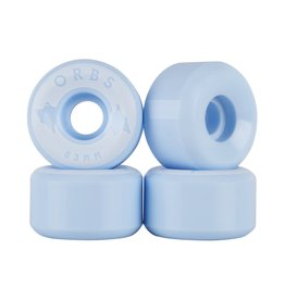 Welcome Skateboards Orbs Specters Powder Blue 53mm