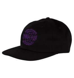 Welcome Skateboards Global Unstructured Snapback Black/Purple