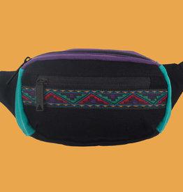 Bum Bag Java Mini Hip Pack Black w/ Ribbon