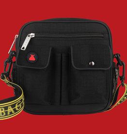 Bum Bag Standard Utility Shoulder Bag Black