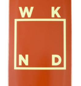 "WKND Logo Board Brown 7.75"""