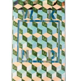 """WKND Tessellation Logo Blue 8.25"""""""
