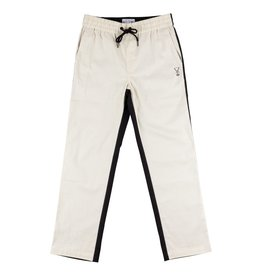 Welcome Skateboards Dark Wave Split-Color Pant Black/Bone