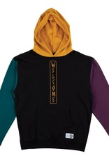 Welcome Skateboards Quadrant French Terry Hoodie Black/Gold