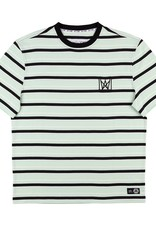 Welcome Skateboards Icon Stripe Short Sleeve Knit Mist/Black