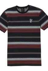 HUF Hana Striped Knit Top Dark Navy