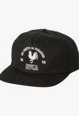 RVCA Paradise Strapback Black