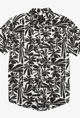 RVCA Mahalo Palm S/S White