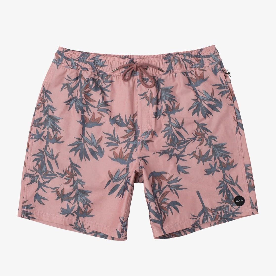 RVCA Porter Elastic Short Dusty Rose
