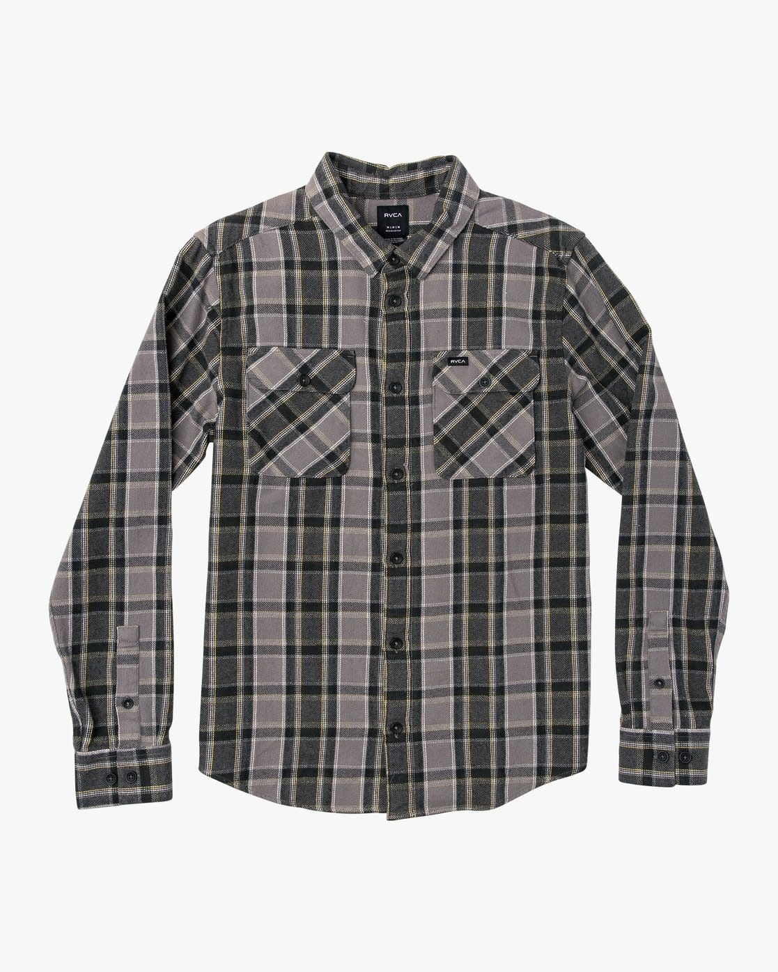 RVCA That'll Work Flannel Smoke