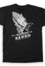 Ace Skateboard Truck Manufacturing Saved Tee Black