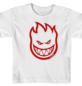 Spitfire Wheels Toddler BigHead Tee White/Red