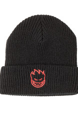 Spitfire Wheels Bighead Emb Black/Red Beanie