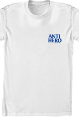 Anti Hero Lil Blackhero Youth L/S White/Navy Tee