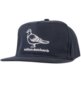 Anti Hero Basic Pigeon Navy/White Snapback
