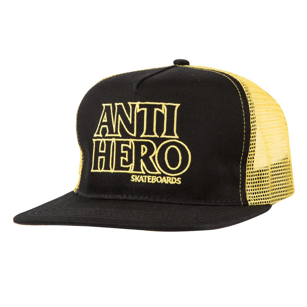Anti Hero Blackhero Ol Trucker Black/Gold