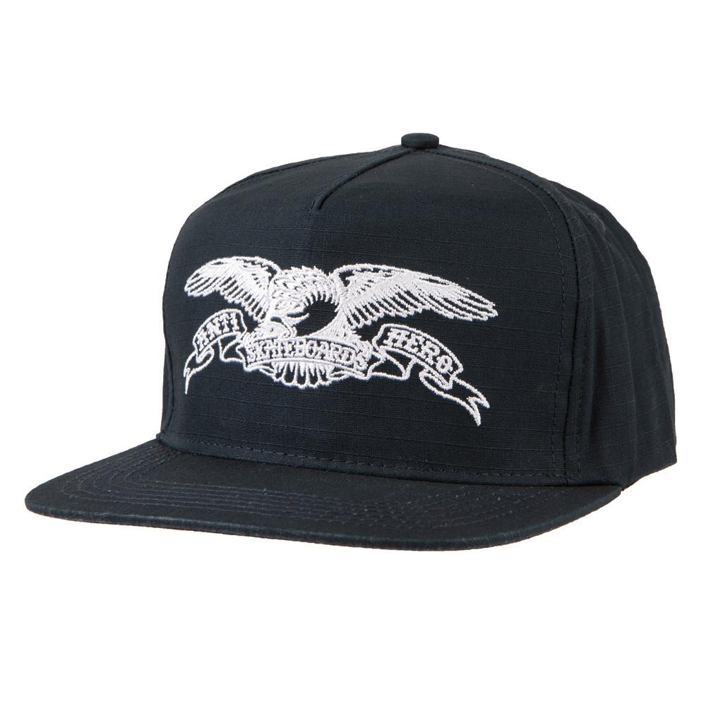 Anti Hero Basic Eagle Snapback Navy/White