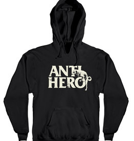 Anti Hero Dog Hump Hoody Black