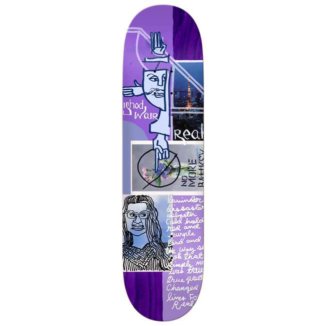 Real Skateboards Postcard Series Wair 8.12