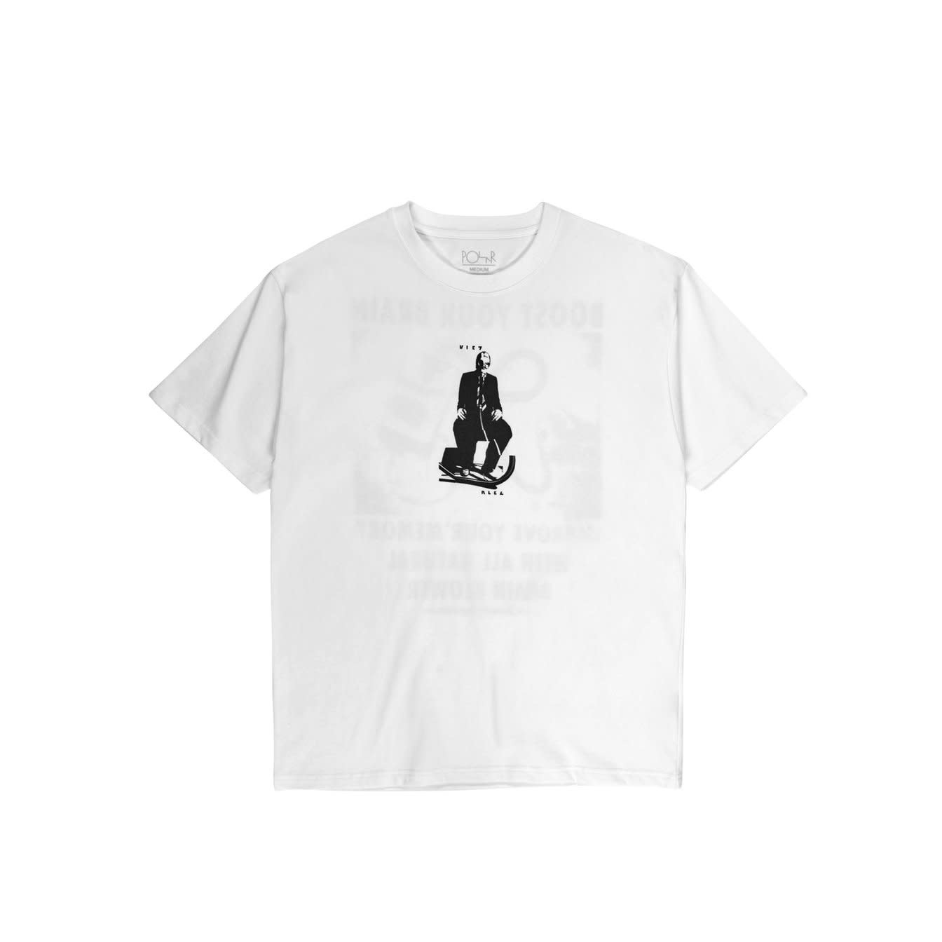 Polar Skate Co. Brain Blower Tee White