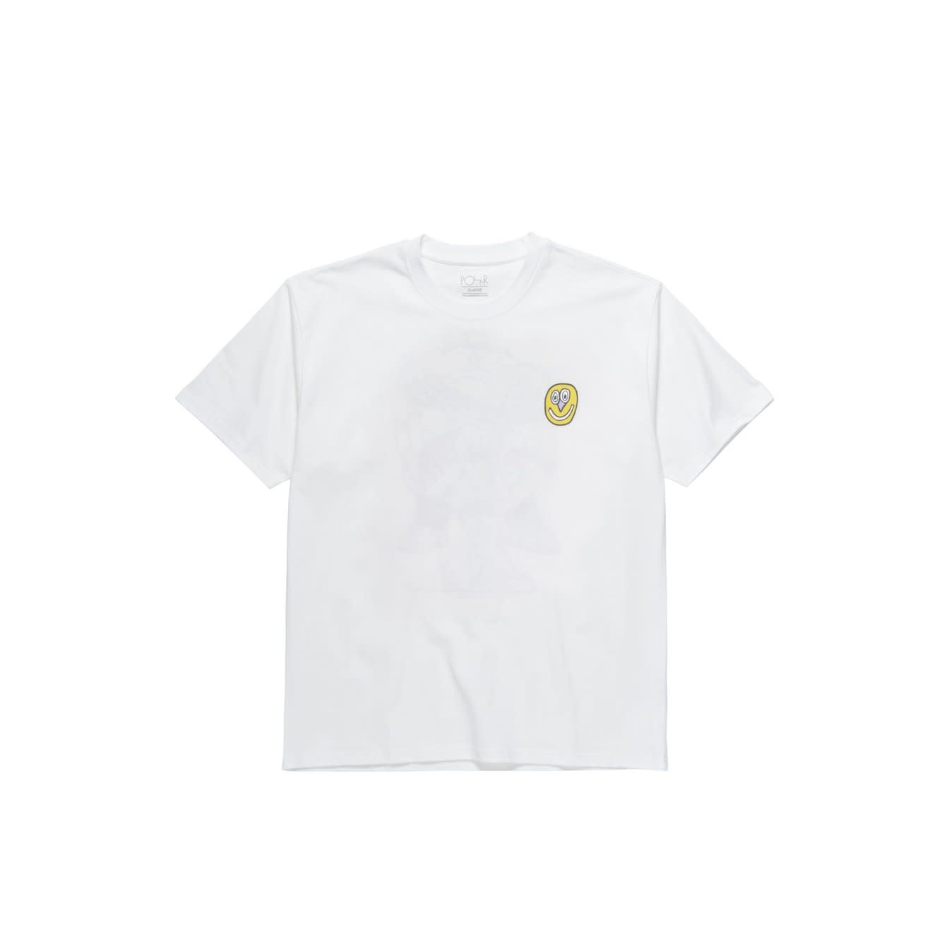 Polar Skate Co. Alien Tee White