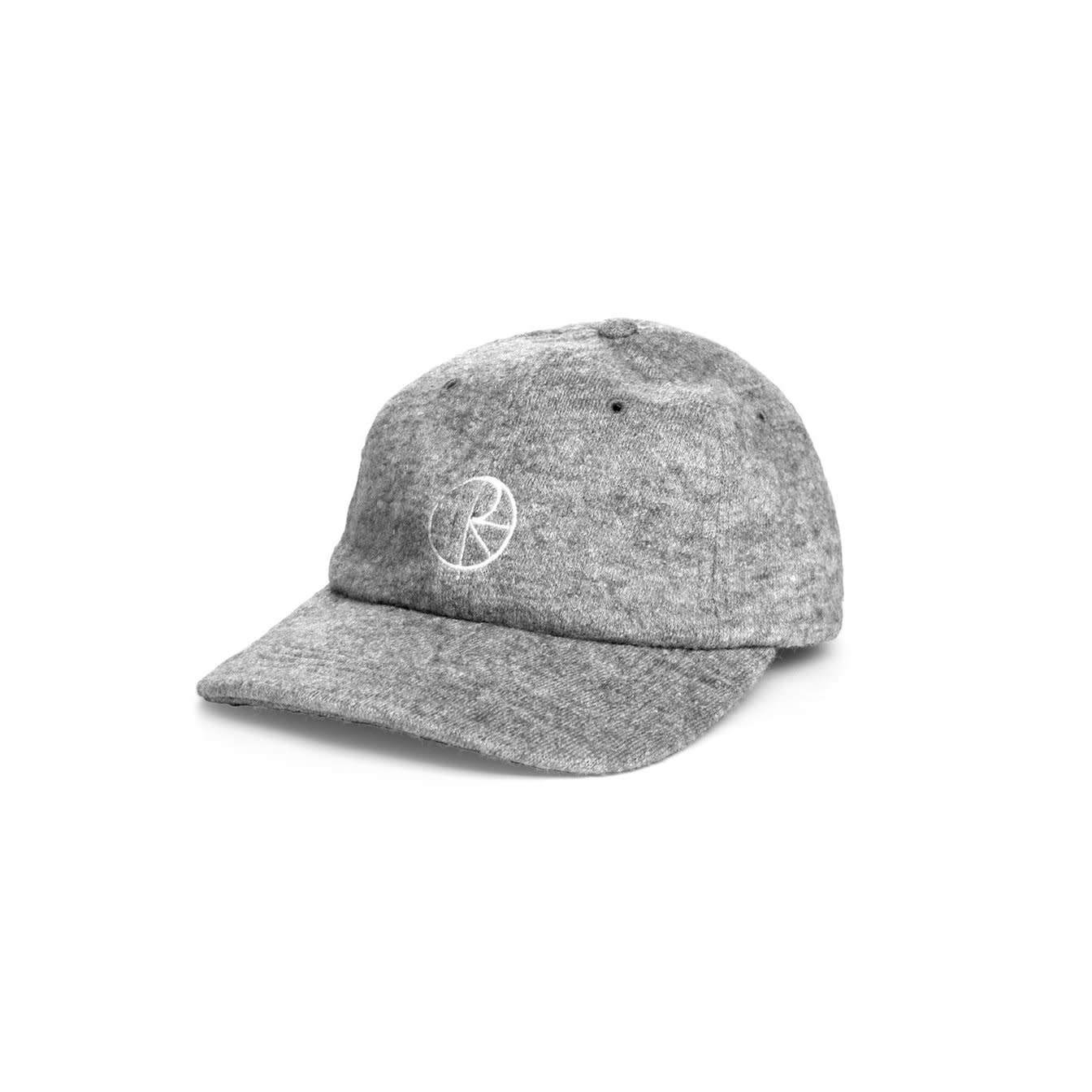 Polar Skate Co. Boiled Wool Cap Grey 56