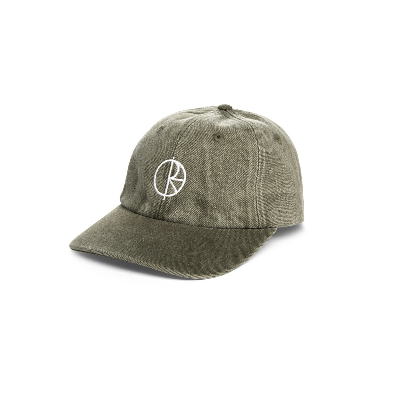 Polar Skate Co. Denim Cap Army Green 56