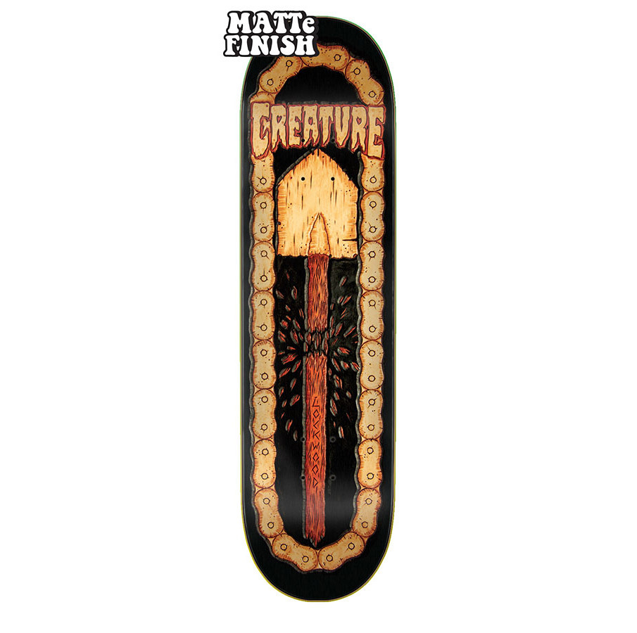 Creature Skateboards Lockwood Leather 8.25