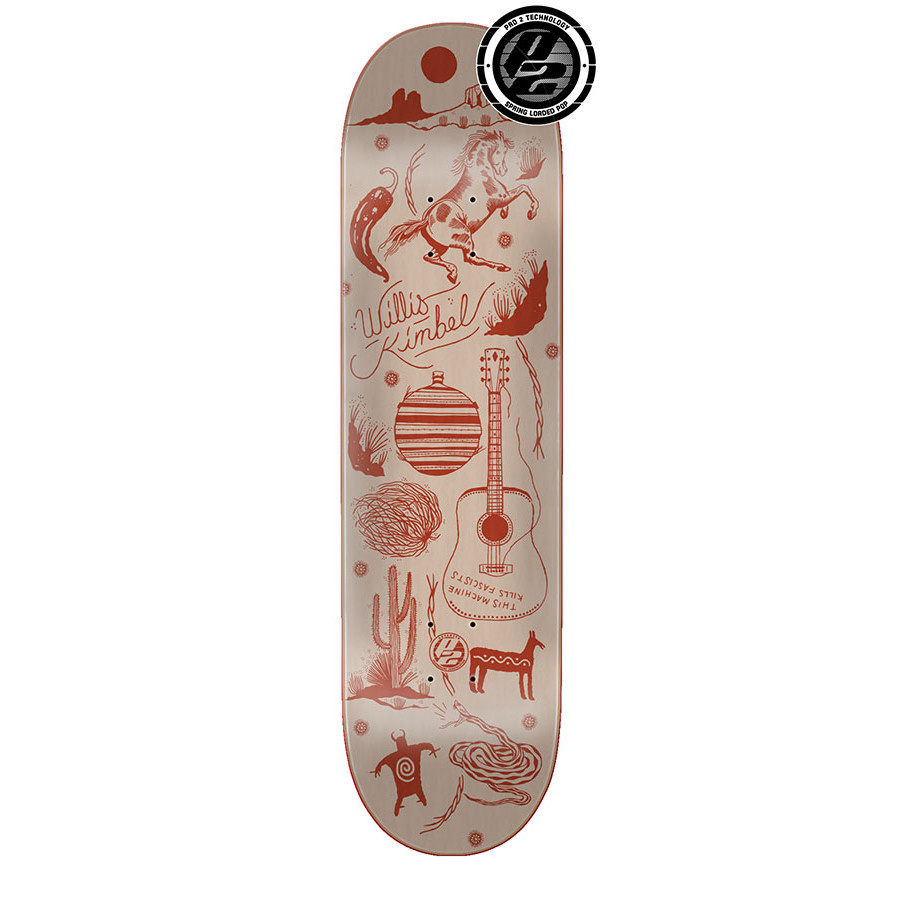Creature Skateboards Kimbel Petroglyph P2 9.0
