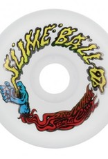 Santa Cruz Skateboards Slime Balls Vomit White 60mm