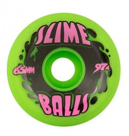 Santa Cruz Skateboards Splat Big Balls Neon Green 65mm 97a