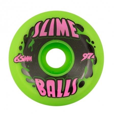 Santa Cruz Skateboards Splat Big Balls Neon Green 65mm 97a