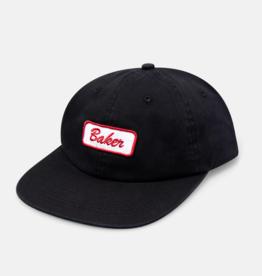 Baker Skateboards Name Tag Black Strapback