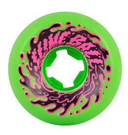 Santa Cruz Skateboards Double Take Vomit Mini Green/Black 56mm 97a